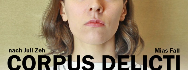 "Theresa Martini als Mia Holl in ""Corpus Delicti - Mias Fall"""